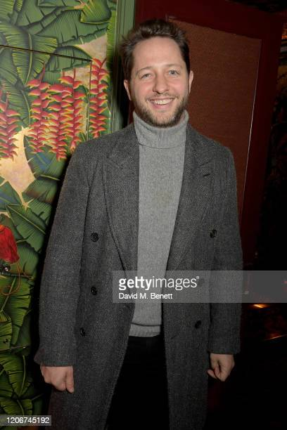 Derek Blasberg attends the TOMMYNOW after party at Annabels on February 16 2020 in London England