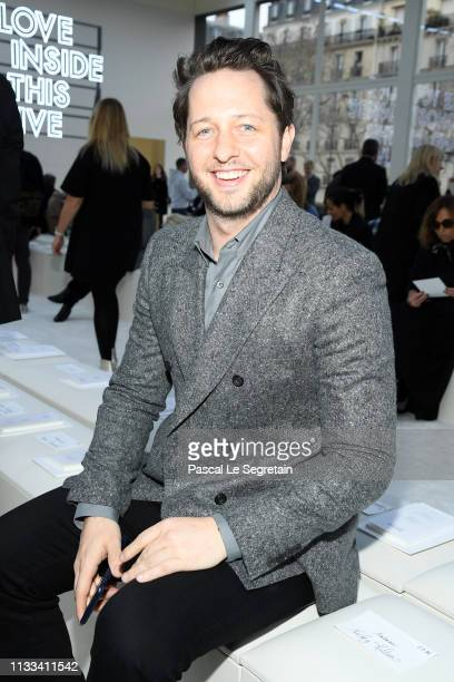 Derek Blasberg attends the Valentino show as part of the Paris Fashion Week Womenswear Fall/Winter 2019/2020 on March 03 2019 in Paris France