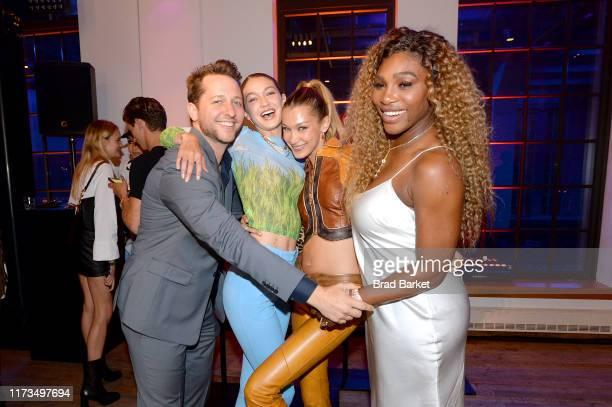 Derek Blasberg Gigi Hadid Bella Hadid and Serena Williams celebrate the launch of YouTubecom/Fashion on September 09 2019 in New York City