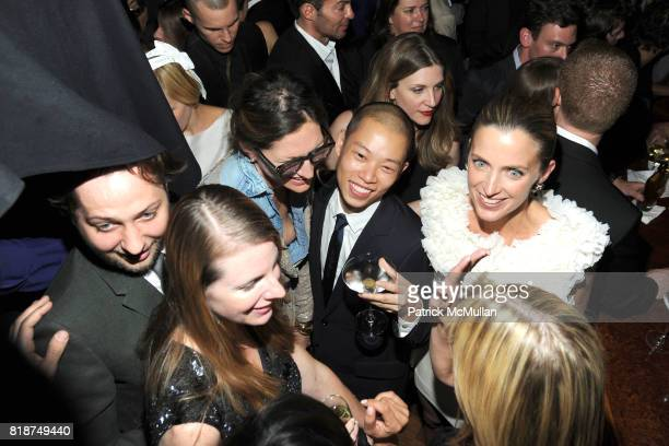 Derek Blasberg Karen Duffy Jenna Lyons Jason Wu and Amanda Brooks attend SWAROVSKI After Party for the 2010 CFDA Awards at The 18th Floor on June 7...