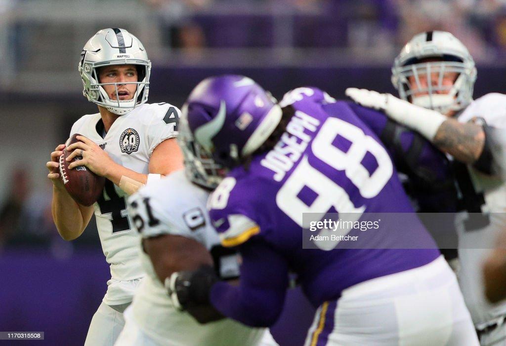 Oakland Raiders v Minnesota Vikings : ニュース写真