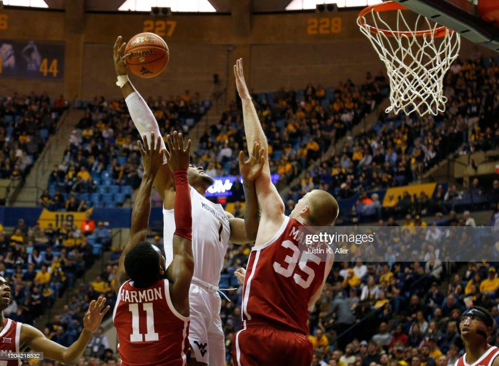 Oklahoma v West Virginia : News Photo