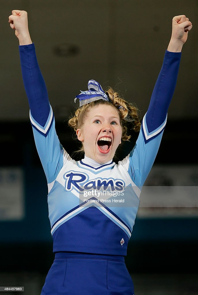 Kelsey Adams of Kennebunk High School performs during the