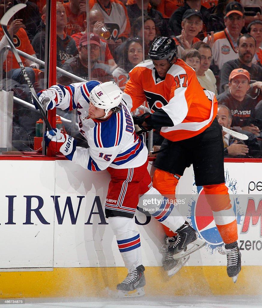 New York Rangers v Philadelphia Flyers - Game Four