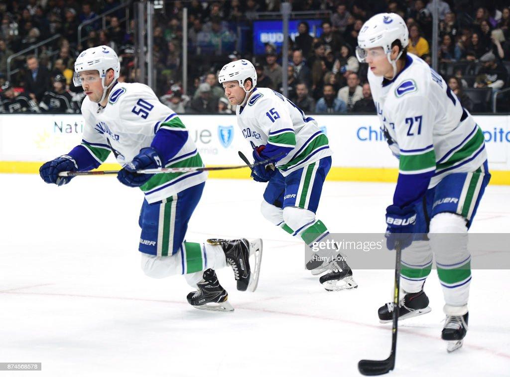 Vancouver Canucks v Los Angeles Kings