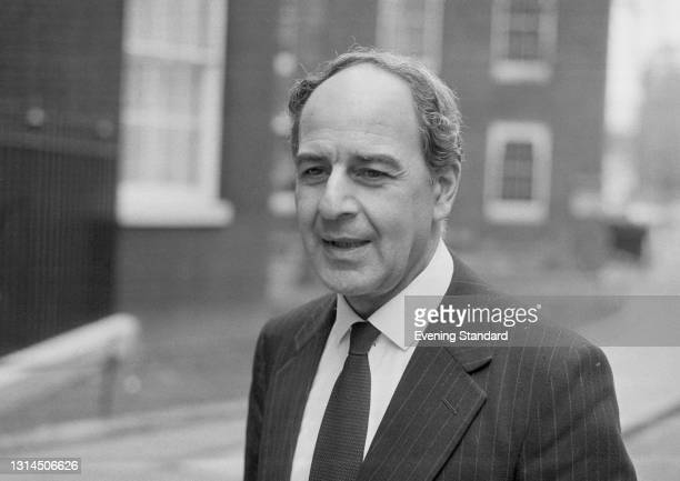 Derek Ezra , Chairman of the National Coal Board, during a period of industrial action by the NUM , UK, 25th January 1974. The government had...
