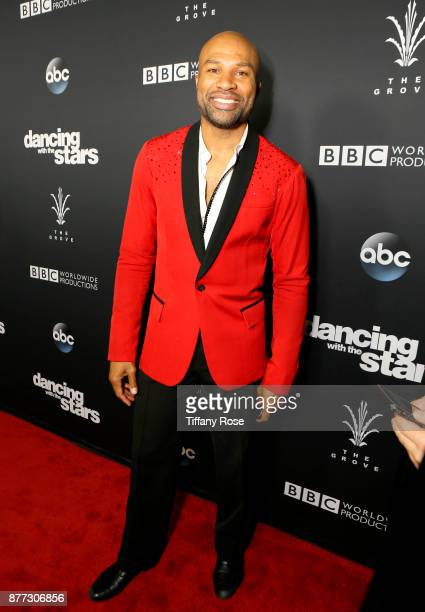Derek Fisher at The Grove Hosts Dancing with the Stars Live Finale at The Grove on November 21 2017 in Los Angeles California