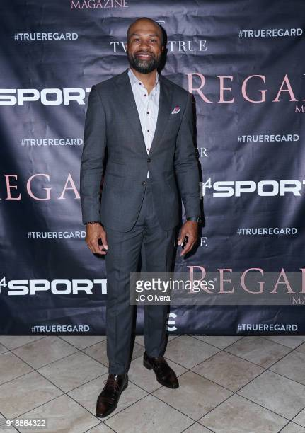 Derek Fisher attends Regard Magazine 2018 NBA AllStar PreParty hosted by Derek Fisher at Soho House on February 15 2018 in West Hollywood California