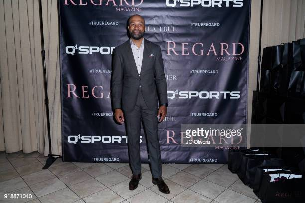 Derek Fisher attends Regard Magazine 2018 NBA AllStar PreParty hosted by Derek Fisher at Soho House on February 15 2018 in West Hollywood California