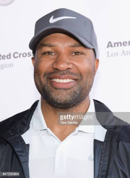 Derek Fisher attends the Red Cross' 5th Annual Celebrity Golf Tournament at Lakeside Golf Club on April 16, 2018 in Burbank, California.