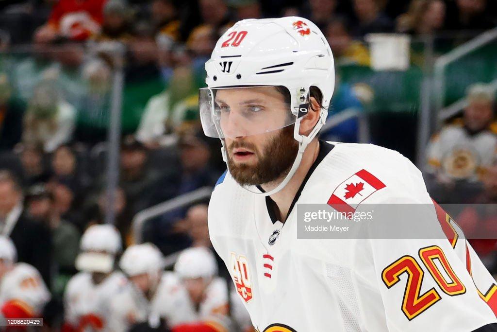 Calgary Flames v Boston Bruins : News Photo