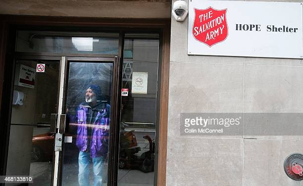 Derek George is losing his on and off home in the Salvation Army's Hope Shelter which is closing in midApril George is among 124 homeless men who...