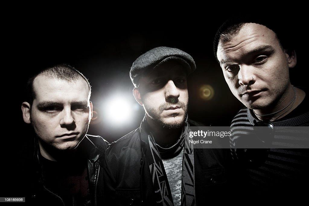 Alkaline Trio Portrait Session : News Photo