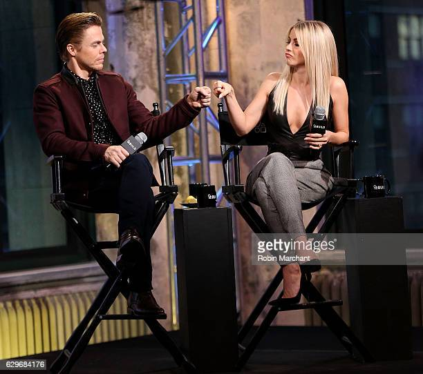 Derek Hough and Julianne Hough attend Build Presents Move Live Performance Tour at AOL HQ on December 14 2016 in New York City