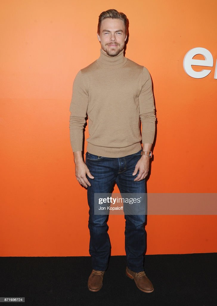 Derek Hough arrives at Ember Launch - Celebrating A Journey Through Temperature And Taste at Goya Studios on November 8, 2017 in Los Angeles, California.