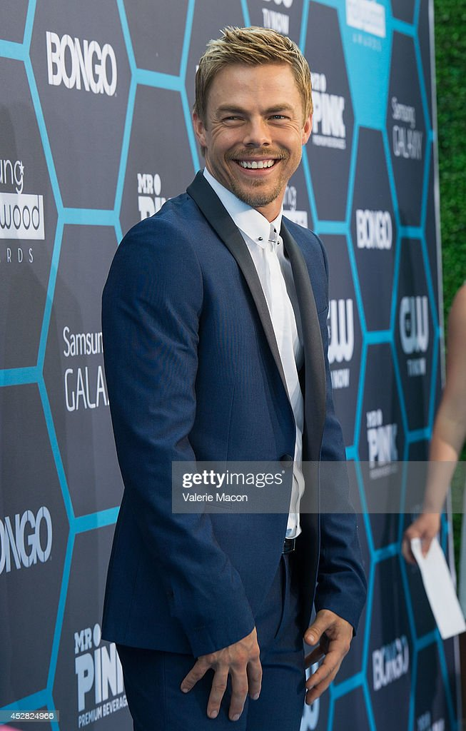 Derek Hough arrives at the 16th Annual Young Hollywood Awards at The Wiltern on July 27, 2014 in Los Angeles, California.