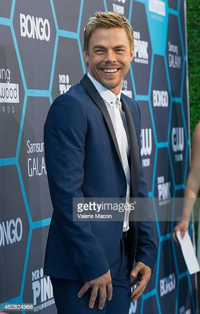 Derek Hough arrives at the 16th Annual Young Hollywood Awards at The Wiltern on July 27 2014 in Los Angeles California