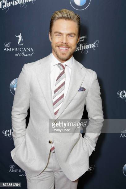 Derek Hough at Derek Hough Hosts The Americana at Brand Tree Lighting Presented By BMW on November 16 in Glendale California on November 16 2017 in...