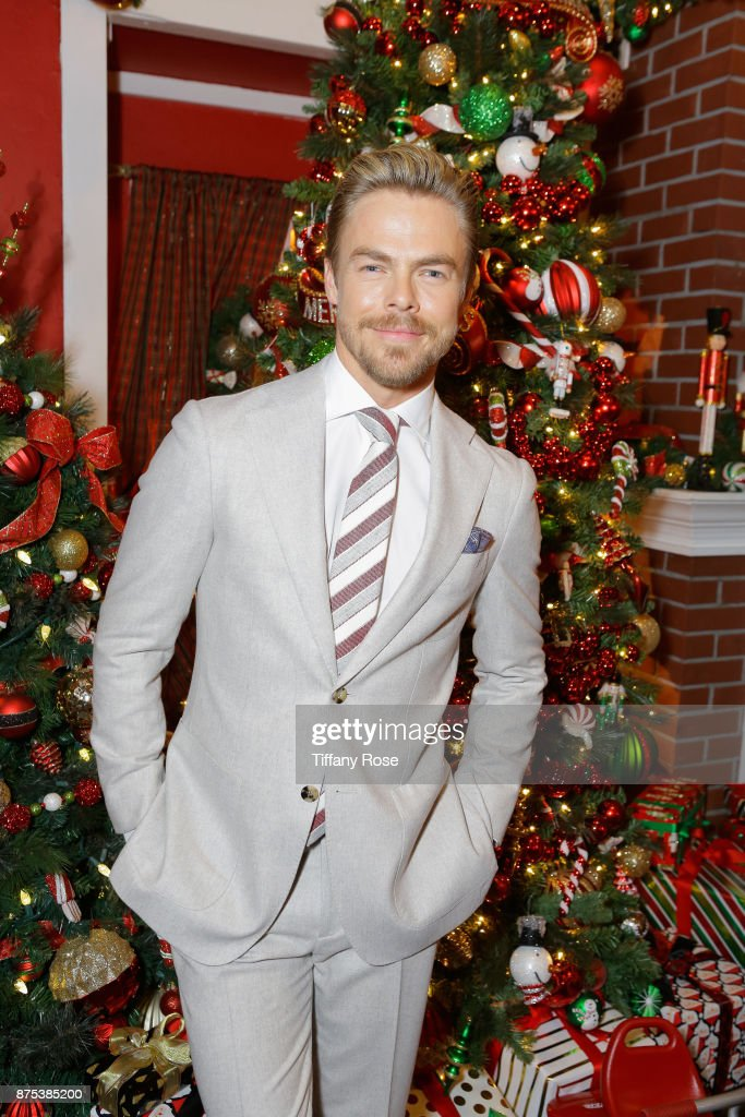 Derek Hough Hosts The Americana at Brand Tree Lighting Presented By BMW on November 16 in Glendale, California