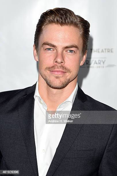 Derek Hough attends American Ballet Theatre's 75th Anniversary Celebration at Alice Tully Hall Lincoln Center on January 21 2015 in New York City