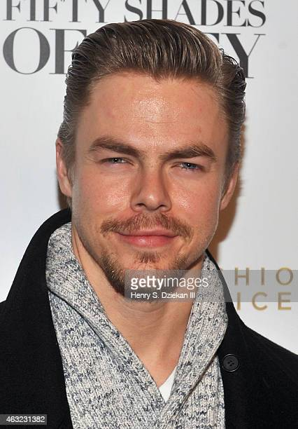 Derek Hough attends E 'Fashion Police' and NYLON kickoff New York Fashion Week with a Fifty Shades of Fashion event in celebration of the release of...