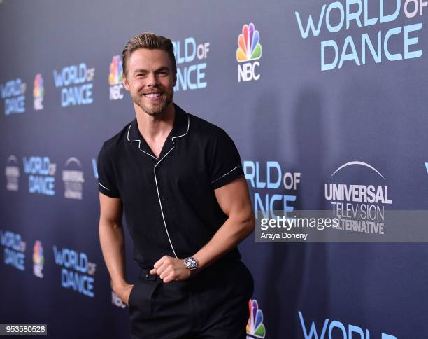 Derek Hough attends FYC Event For NBC's World Of Dance at Saban Media Center on May 1 2018 in North Hollywood California