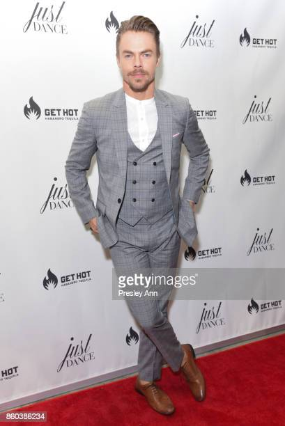 Derek Hough attends grand opening event for JustDance LA at Just Dance Los Angeles on October 11 2017 in Studio City California