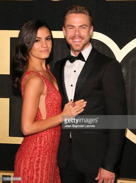 Derek Hough attends HBO's Official 2018 Emmy After Party on September 17 2018 in Los Angeles California