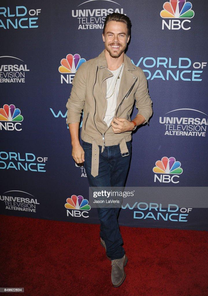 Derek Hough attends NBC's 'World of Dance' celebration at Delilah on September 19, 2017 in West Hollywood, California.