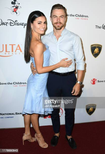 Derek Hough attends Save the Children's Centennial Celebration Once In A Lifetime Presented By The Walt Disney Company at The Beverly Hilton Hotel on...