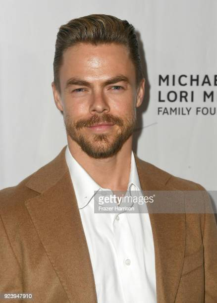 Derek Hough attends the 12th Annual Los Angeles Ballet Gala at the Beverly Wilshire Four Seasons Hotel on February 24 2018 in Beverly Hills California