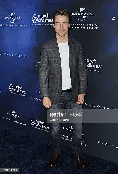 Derek Hough attends the 2016 March of Dimes Celebration of Babies at the Beverly Wilshire Four Seasons Hotel on December 9 2016 in Beverly Hills...