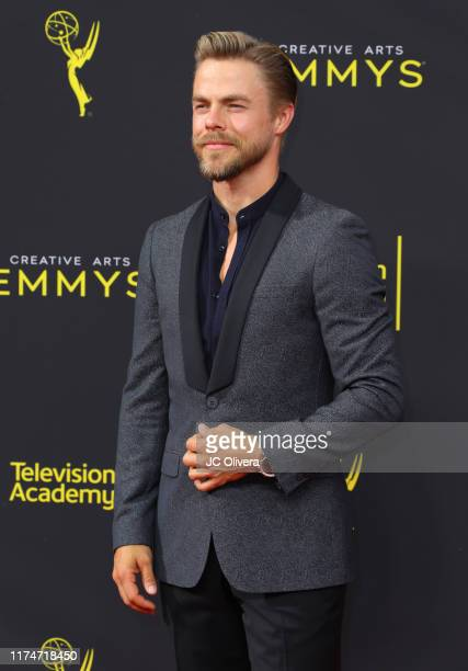 Derek Hough attends the 2019 Creative Arts Emmy Awards on September 14 2019 in Los Angeles California