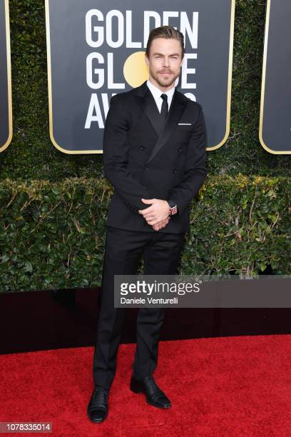 Derek Hough attends the 76th Annual Golden Globe Awards at The Beverly Hilton Hotel on January 6 2019 in Beverly Hills California
