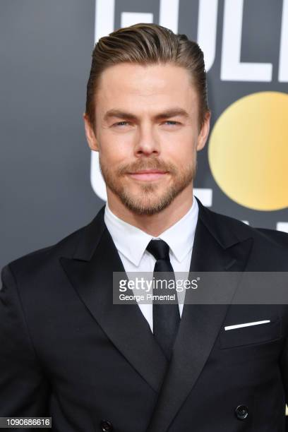 Derek Hough attends the 76th Annual Golden Globe Awards held at The Beverly Hilton Hotel on January 06 2019 in Beverly Hills California