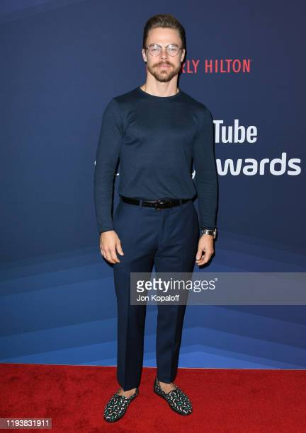 Derek Hough attends the 9th Annual Streamy Awards at The Beverly Hilton Hotel on December 13, 2019 in Beverly Hills, California.