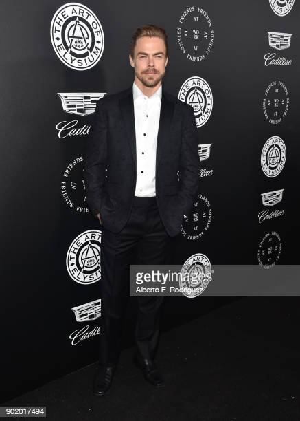 Derek Hough attends The Art Of Elysium's 11th Annual Celebration on January 6 2018 in Santa Monica California