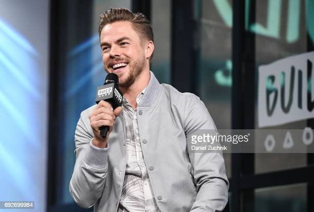 Derek Hough attends the Build Series to discuss the new show 'World of Dance' at Build Studio on June 5, 2017 in New York City.