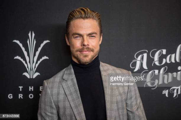 Derek Hough attends the California Christmas at The Grove on November 12 2017 in Los Angeles California