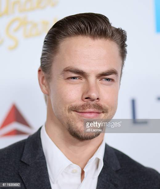 Derek Hough attends the MPTF 95th anniversary celebration with 'Hollywood's Night Under The Stars' at MPTF Wasserman Campus on October 1 2016 in Los...
