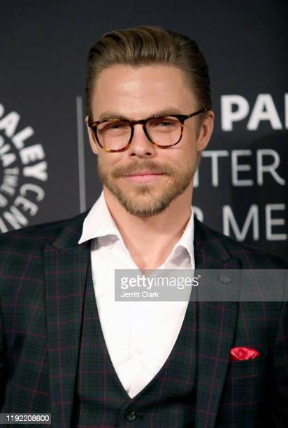 Derek Hough attends The Paley Center For Media Presents: An Evening With Derek Hough And Julianne Hough at The Paley Center for Media on December 05,...