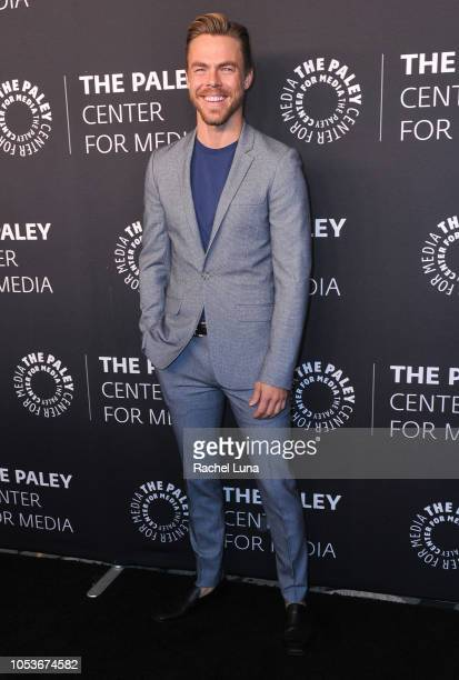 Derek Hough attends the Paley Center for Media's 'Paley Honors In Hollywood A Gala Tribute To Music On Television' at the Beverly Wilshire Four...