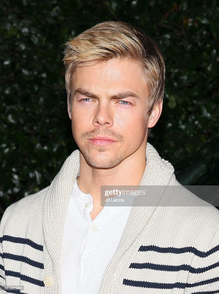 Derek Hough attends the Topshop Topman LA Opening Party held at Cecconi's Restaurant on February 13, 2013 in Los Angeles, California.