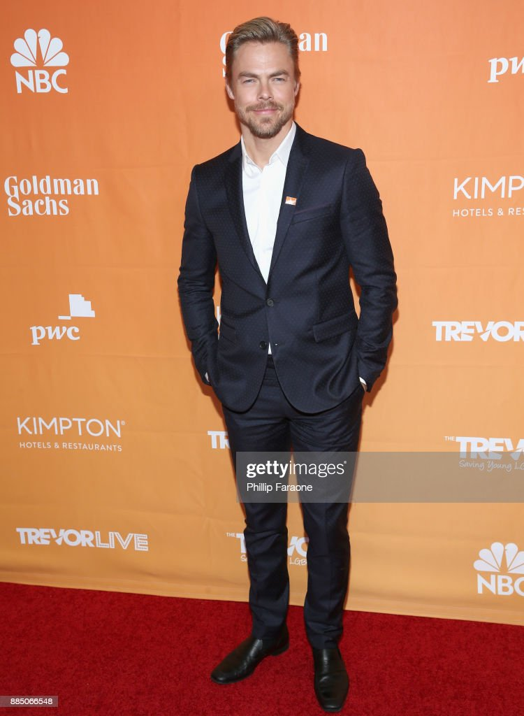 Derek Hough attends The Trevor Project's 2017 TrevorLIVE LA Gala at The Beverly Hilton Hotel on December 3, 2017 in Beverly Hills, California.