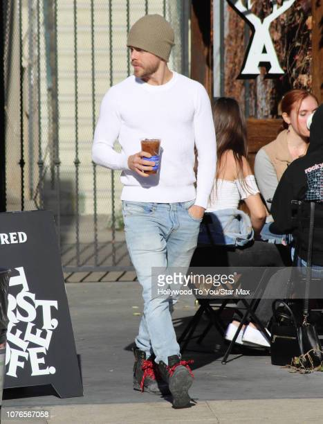Derek Hough is seen on January 2 2019 in Los Angeles CA
