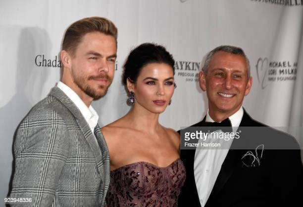Derek Hough Jenna Dewan Tatum and Adam Shankman attend the 12th Annual Los Angeles Ballet Gala at the Beverly Wilshire Four Seasons Hotel on February...