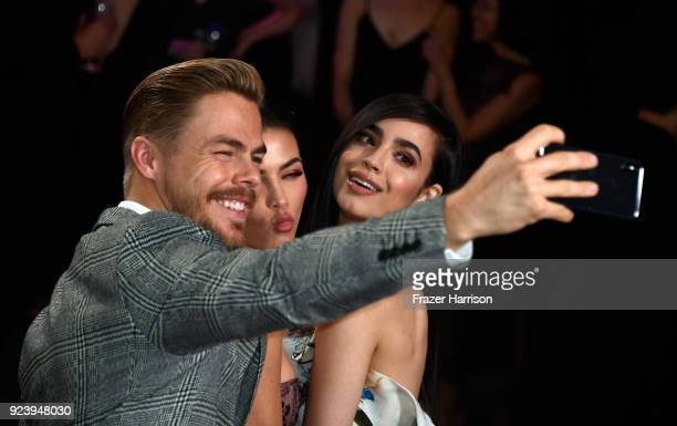Derek Hough Jenna Dewan Tatum and Sofia Carson attend the 12th Annual Los Angeles Ballet Gala at the Beverly Wilshire Four Seasons Hotel on February...