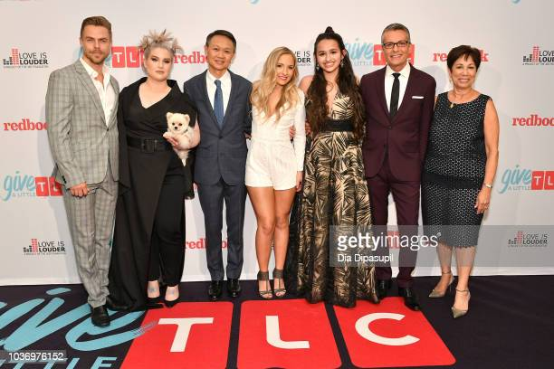 Derek Hough Kelly Osbourne President and GM of TLC Howard Lee Jessie Chris Jazz Jennings Randy Fenoli and Chief HR Global Diversity Officer of...