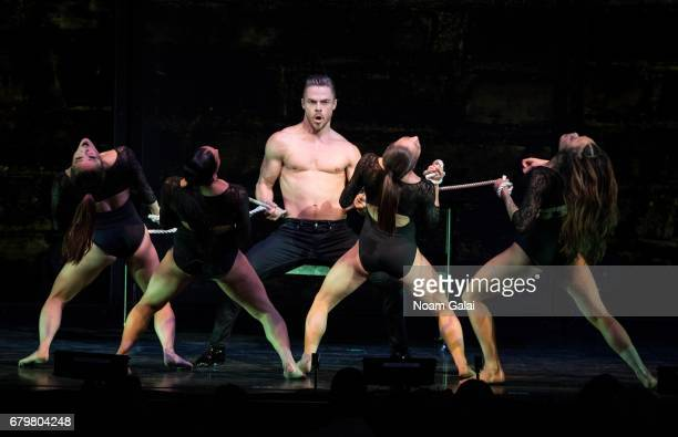 Derek Hough performs at the 'Julianne and Derek Hough MOVE Beyond Live On Tour' at Radio City Music Hall on May 6 2017 in New York City