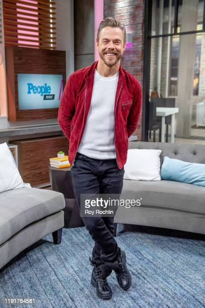 Derek Hough visits People Now on December 03 2019 in New York City